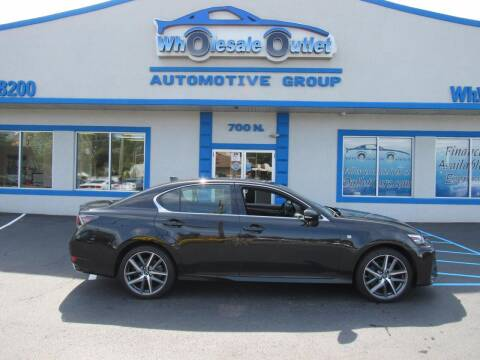 2018 Lexus GS 350 for sale at The Wholesale Outlet in Blackwood NJ