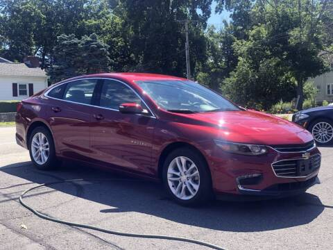 2017 Chevrolet Malibu for sale at LARIN AUTO in Norwood MA