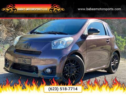 2014 Scion iQ for sale at Baba's Motorsports, LLC in Phoenix AZ