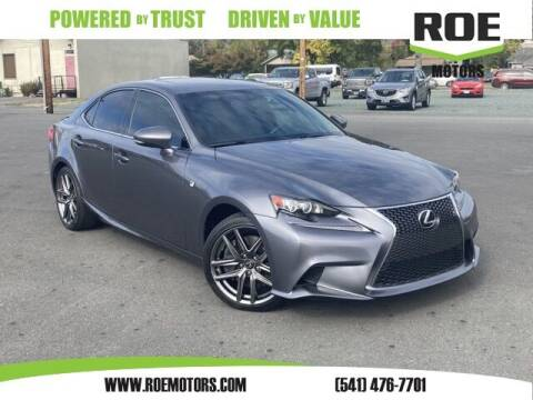2015 Lexus IS 350 for sale at Roe Motors in Grants Pass OR