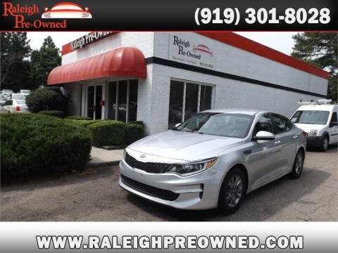2016 Kia Optima for sale at Raleigh Pre-Owned in Raleigh NC