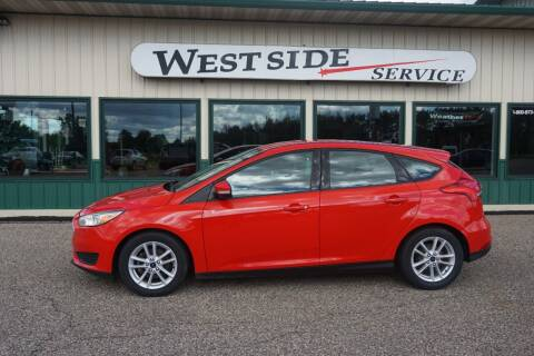 2015 Ford Focus for sale at West Side Service in Auburndale WI