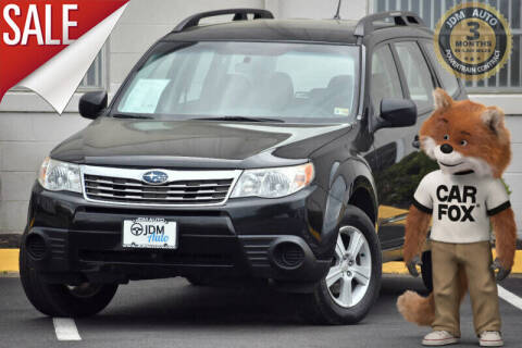 2010 Subaru Forester for sale at JDM Auto in Fredericksburg VA