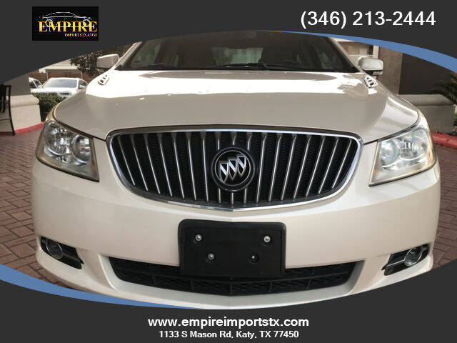 2013 Buick LaCrosse for sale at EMPIREIMPORTSTX.COM in Katy TX