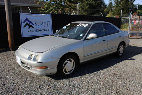 1997 Acura Integra for sale at Summit Auto Sales in Puyallup WA