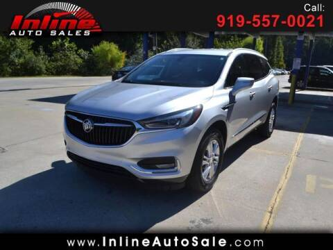 2020 Buick Enclave for sale at Inline Auto Sales in Fuquay Varina NC