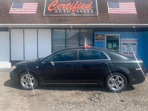 2008 Chevrolet Malibu for sale at Certified Auto Sales, Inc in Lorain OH