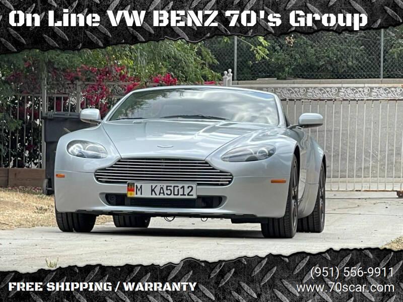 2008 Aston Martin V8 Vantage for sale at OnLine VW-BENZ.COM inc in Warehouse CA