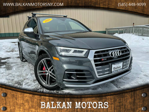 2018 Audi SQ5 for sale at BALKAN MOTORS in East Rochester NY