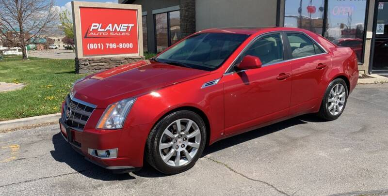 2008 Cadillac CTS for sale at PLANET AUTO SALES in Lindon UT