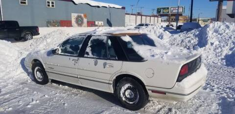 1991 Oldsmobile Cutlass Supreme for sale at GOOD NEWS AUTO SALES in Fargo ND