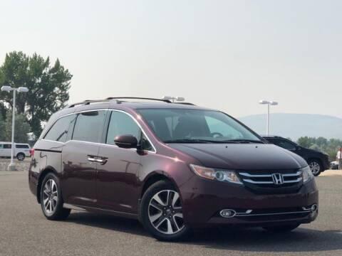 2014 Honda Odyssey for sale at Rocky Mountain Commercial Trucks in Casper WY