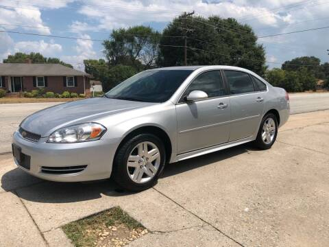 2014 Chevrolet Impala Limited for sale at E Motors LLC in Anderson SC