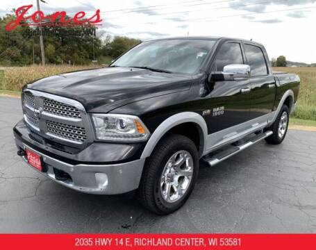 2015 RAM Ram Pickup 1500 for sale at Jones Chevrolet Buick Cadillac in Richland Center WI