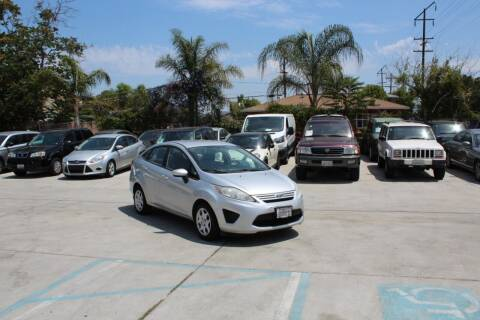 2011 Ford Fiesta for sale at Car 1234 inc in El Cajon CA