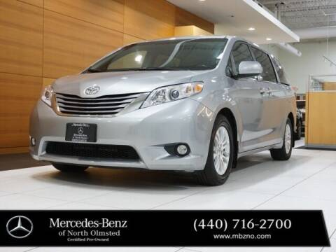 2015 Toyota Sienna for sale at Mercedes-Benz of North Olmsted in North Olmstead OH