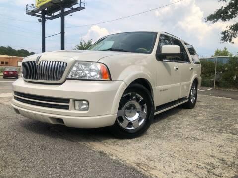 2006 Lincoln Navigator for sale at Atlas Auto Sales in Smyrna GA