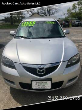 2008 Mazda MAZDA3 for sale at Rocket Cars Auto Sales LLC in Des Moines IA