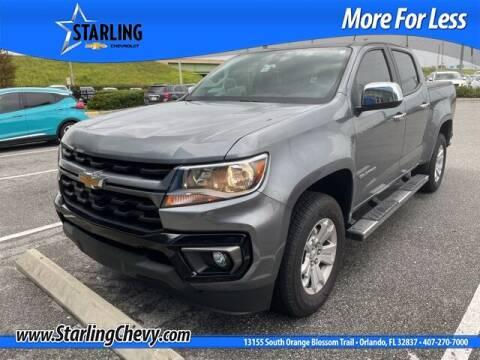 2021 Chevrolet Colorado for sale at Pedro @ Starling Chevrolet in Orlando FL