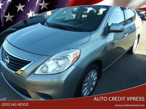 2014 Nissan Versa for sale at Auto Credit Xpress - Sherwood in Sherwood AR