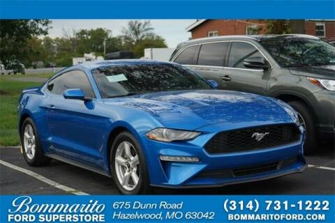 2019 Ford Mustang for sale at NICK FARACE AT BOMMARITO FORD in Hazelwood MO