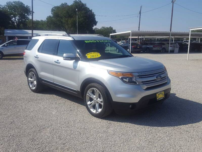 2015 Ford Explorer for sale at Bostick's Auto & Truck Sales LLC in Brownwood TX