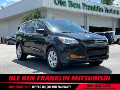 2014 Ford Escape for sale at Ole Ben Franklin Mitsbishi in Oak Ridge TN