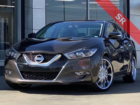 2016 Nissan Maxima for sale at Carmel Motors in Indianapolis IN