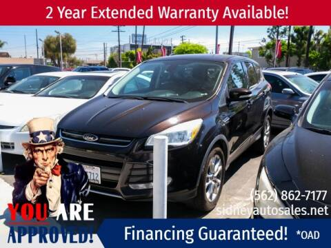 2013 Ford Escape for sale at Sidney Auto Sales in Downey CA
