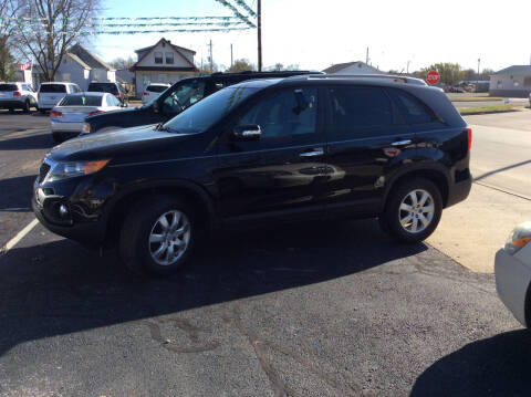 2012 Kia Sorento for sale at BISHOP MOTORS inc. in Mount Carmel IL