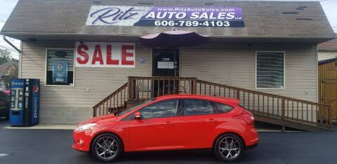 2014 Ford Focus for sale at Ritz Auto Sales, LLC in Paintsville KY