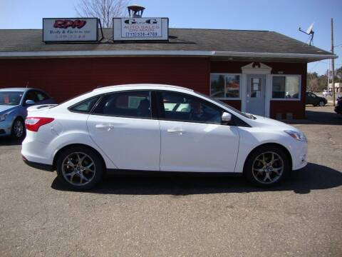 2013 Ford Focus for sale at G and G AUTO SALES in Merrill WI
