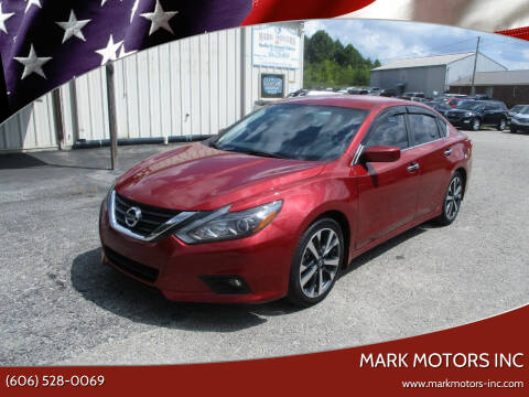 2016 Nissan Altima for sale at Mark Motors Inc in Gray KY