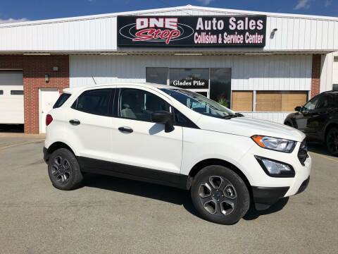 2019 Ford EcoSport for sale at One Stop Auto Sales, Collision & Service Center in Somerset PA