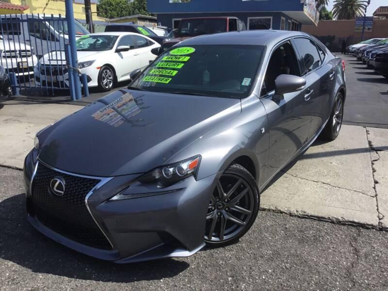 2015 Lexus IS 250 for sale at LA PLAYITA AUTO SALES INC in South Gate CA