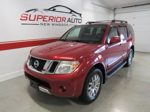 2010 Nissan Pathfinder for sale at Superior Auto Sales in New Windsor NY