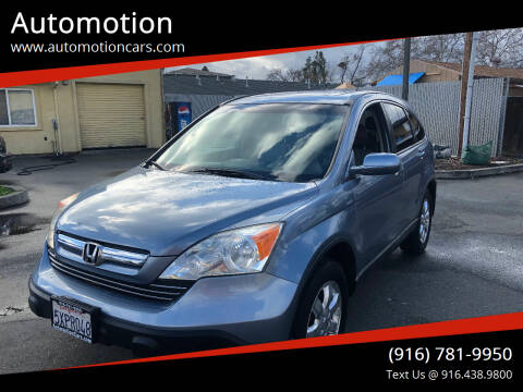2007 Honda CR-V for sale at Automotion in Roseville CA