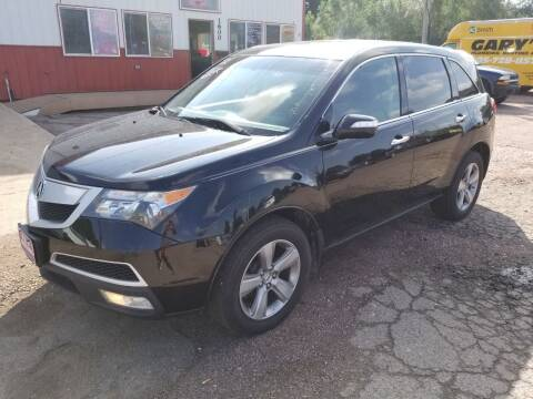 2012 Acura MDX for sale at G & H Motors LLC in Sioux Falls SD