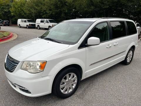 2015 Chrysler Town and Country for sale at MJ AUTO BROKER in Alpharetta GA