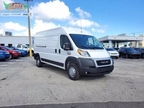 2021 RAM ProMaster Cargo for sale at GATOR'S IMPORT SUPERSTORE in Melbourne FL