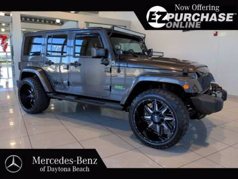 2017 Jeep Wrangler Unlimited for sale at Mercedes-Benz of Daytona Beach in Daytona Beach FL