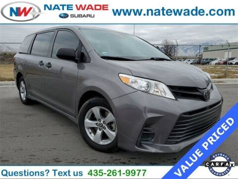 2018 Toyota Sienna for sale at NATE WADE SUBARU in Salt Lake City UT