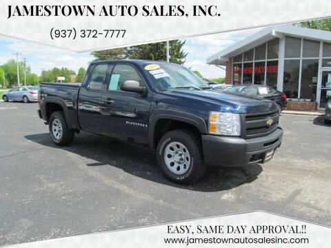 2009 Chevrolet Silverado 1500 for sale at Jamestown Auto Sales, Inc. in Xenia OH