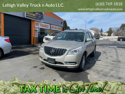 2014 Buick Enclave for sale at Lehigh Valley Truck n Auto LLC. in Schnecksville PA