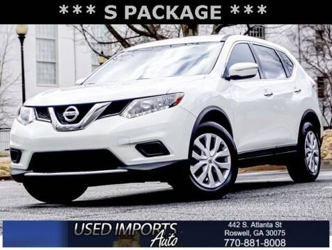 2015 Nissan Rogue for sale at Used Imports Auto in Roswell GA