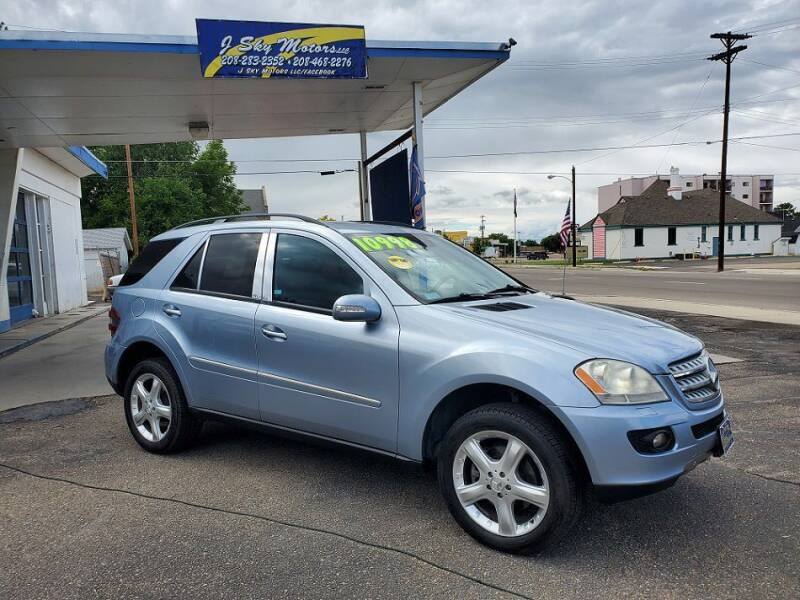 2006 Mercedes-Benz M-Class for sale at J Sky Motors in Nampa ID