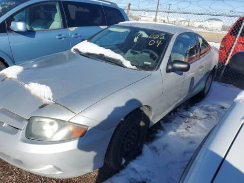 2004 Chevrolet Cavalier for sale at PYRAMID MOTORS - Fountain Lot in Fountain CO