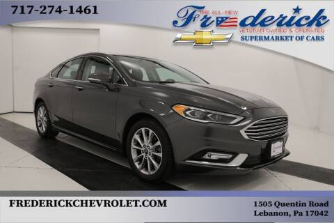 2017 Ford Fusion for sale at Lancaster Pre-Owned in Lancaster PA