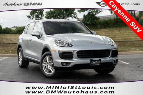 2016 Porsche Cayenne for sale at Autohaus Group of St. Louis MO - 40 Sunnen Drive Lot in Saint Louis MO