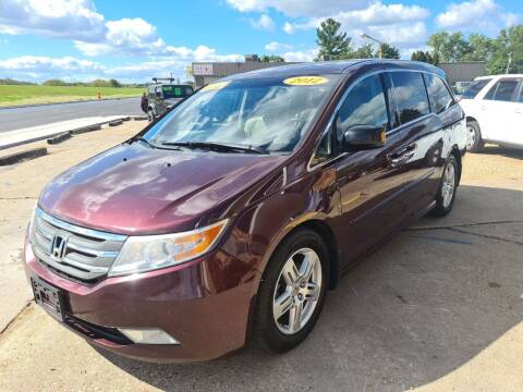 2012 Honda Odyssey for sale at River Motors in Portage WI